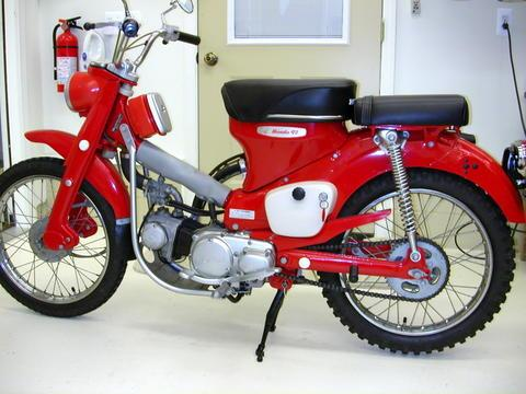 Honda on Honda Trail Ct90 Website   1967 Honda Trail Ct90 Gallery