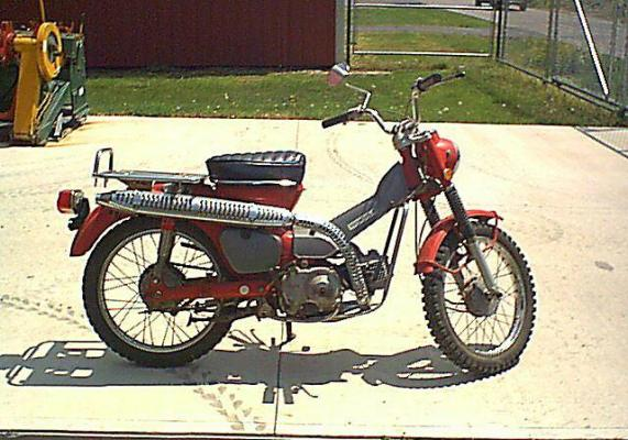 1971 Honda CT90K3 Red 1 honda trail ct90 website 1971 honda trail ct90 gallery 1968 honda trail 90 wiring diagram at highcare.asia